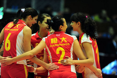 广东恒大女排名单_广东恒大女排夺得世俱杯铜牌