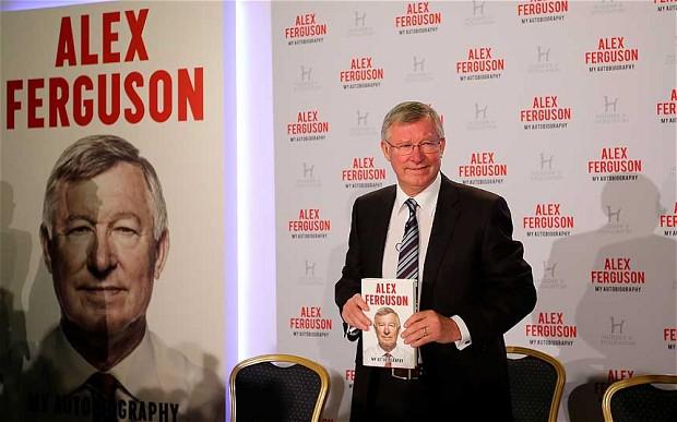 北京时间10月22日晚,前曼联主帅弗格森召开了自传《我的自传》的发布