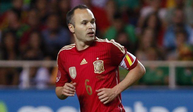 伊涅斯塔:无论谁入选名单,西班牙都很强大