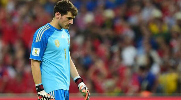 6月19日世界杯早报:西班牙0-2智利