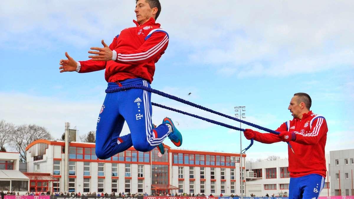 里贝里恢复训练,部分拜仁球员可能坐板凳_虎扑