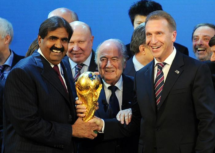 卡塔尔可能失去世界杯举办权