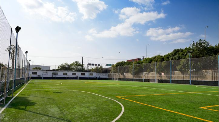 猎鹰足球俱乐部:宝山专业室外足球场