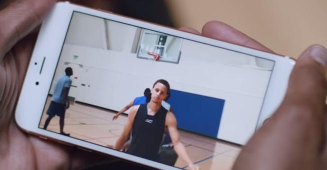 库里现身iPhone 6s最新广告