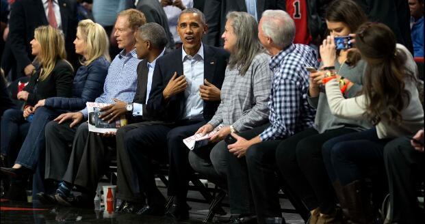 奥巴马:很高兴公牛身处东部