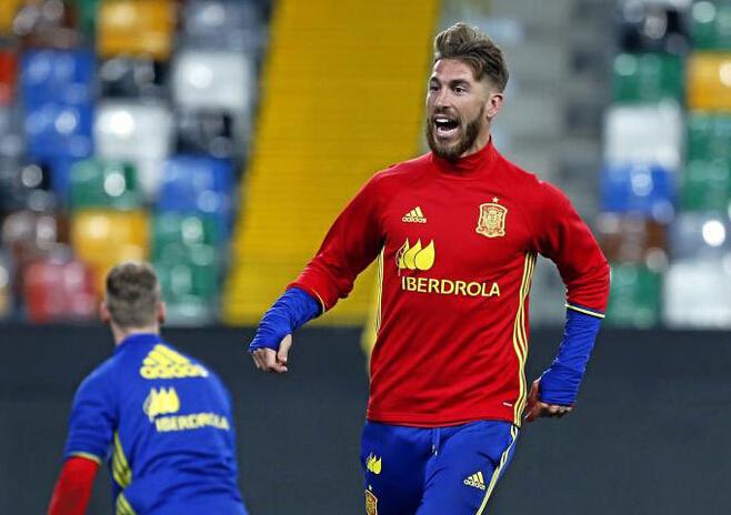 拉莫斯因伤退出西班牙国家队