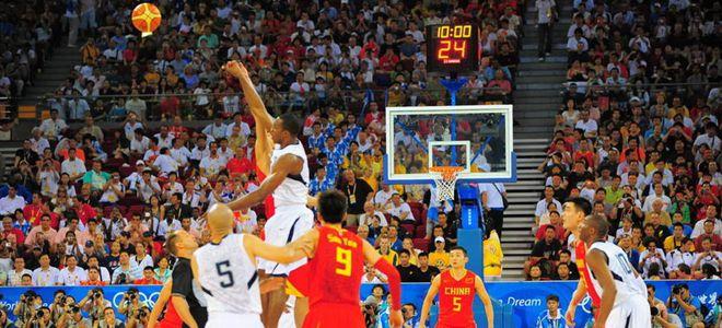 美国男篮热身赛将两战中国男篮