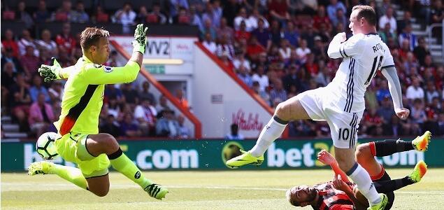 马塔鲁尼伊布齐建功,曼联3-1伯恩茅斯