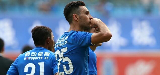 扎哈维点射吉安努世界波,富力2-0胜建业_虎扑中国足球新闻