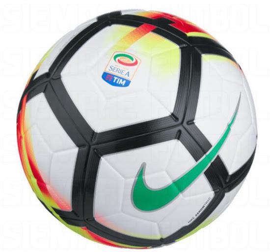 揭秘意甲2017-18赛季比赛用球