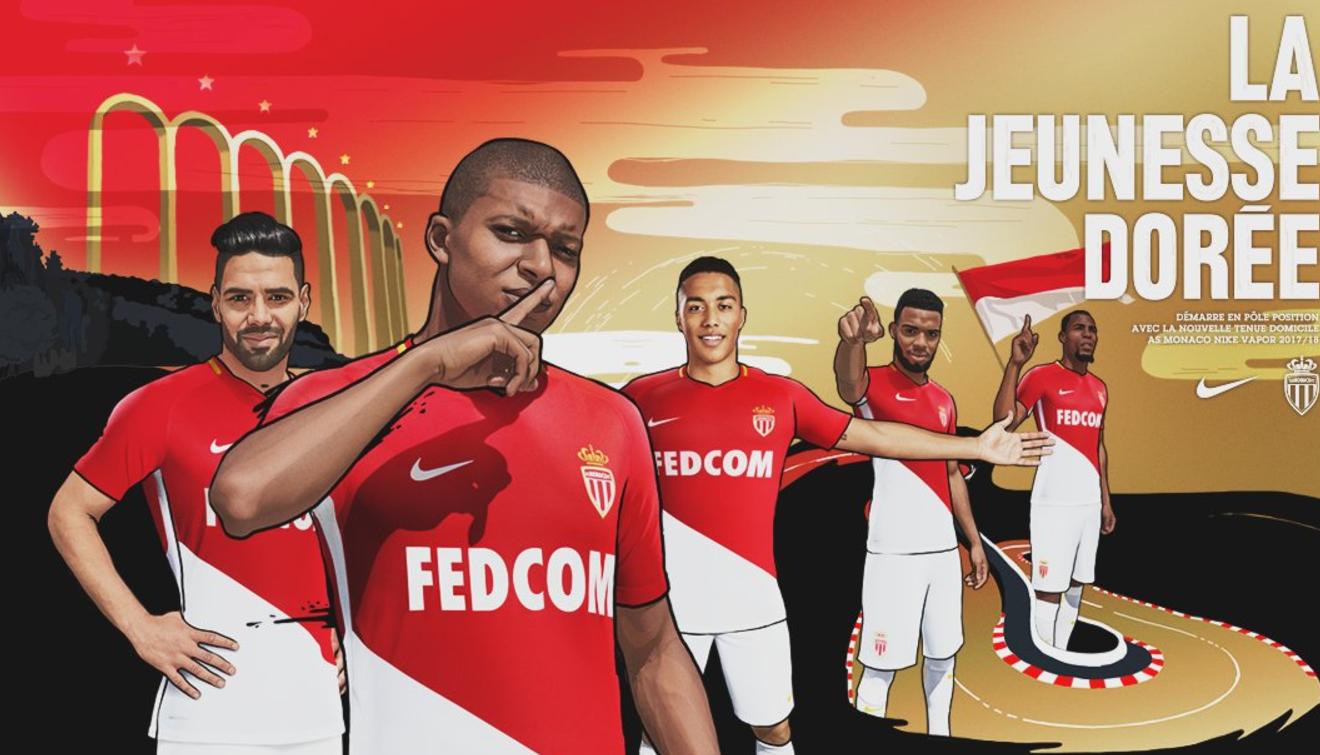 姆巴佩现身摩纳哥新赛季宣传海报:我们准备好了