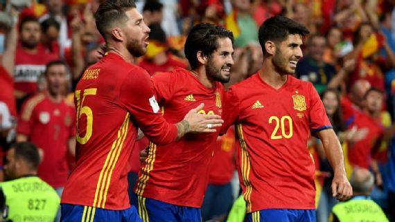 西班牙国家队将给参加欧冠的皇马国脚休假,6月初再报道