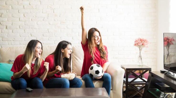 数百万英国女性观看世界杯 超一半女性每天都看