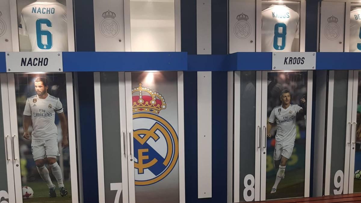 C罗回马德里告别好友,7号衣柜已被清空