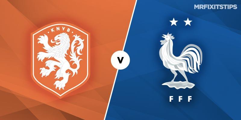荷兰vs法国首发:范戴克、格列兹曼各自领衔