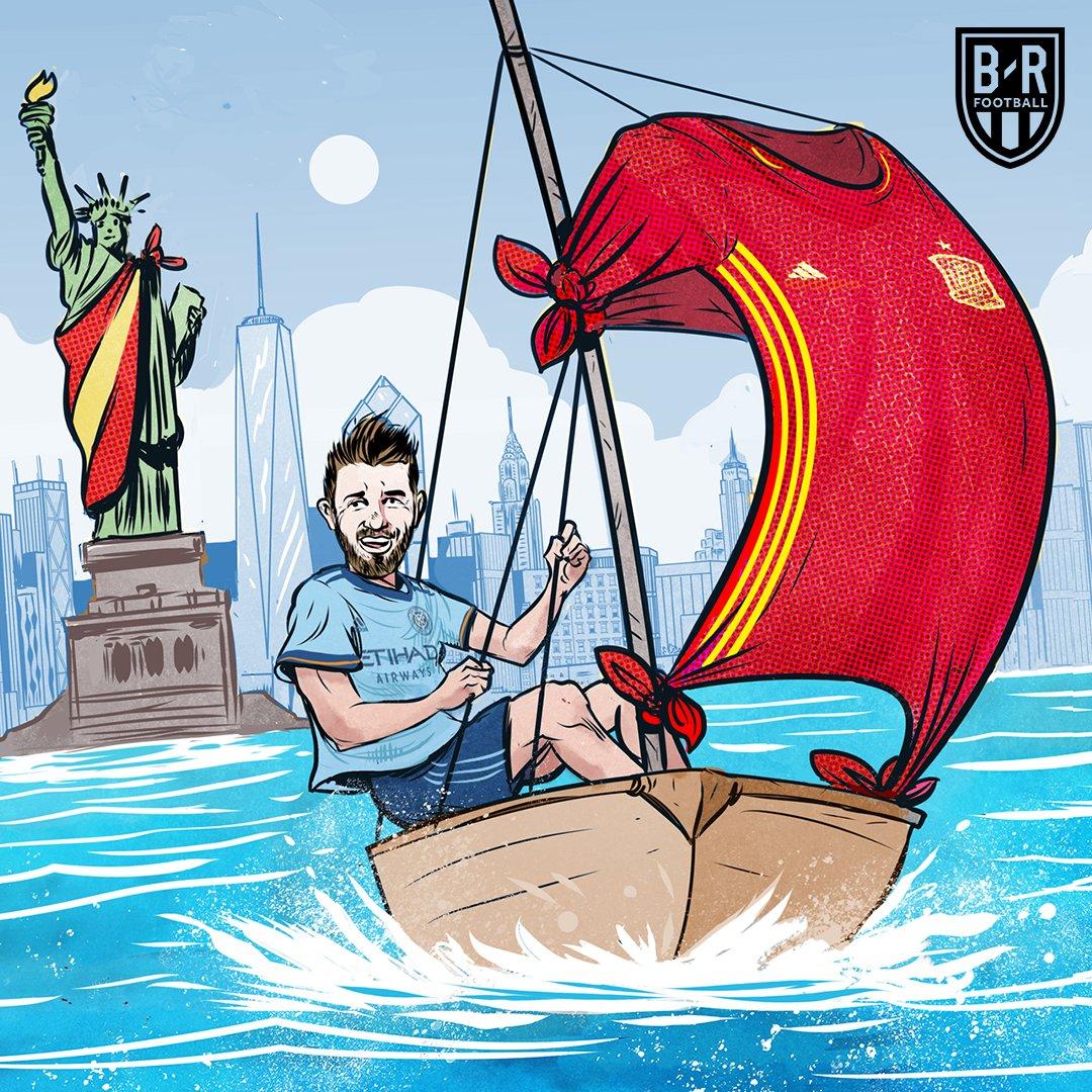 官方:纽约城队长比利亚离队,结束四年效力生涯