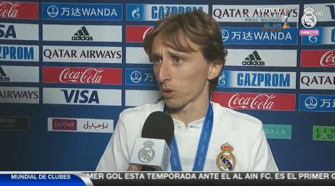 莫德里奇:很多人让我多射门,但我还是更喜欢传球