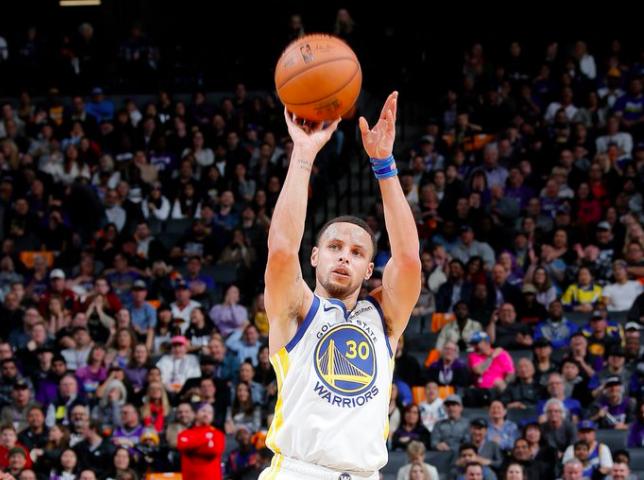 [虎]勇士国王合计投进41记三分,创造NBA历史新纪录