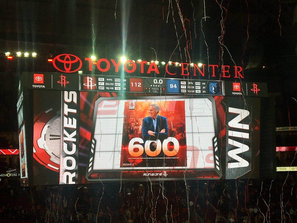 里程碑!德安东尼常规赛执教总胜场数达到600