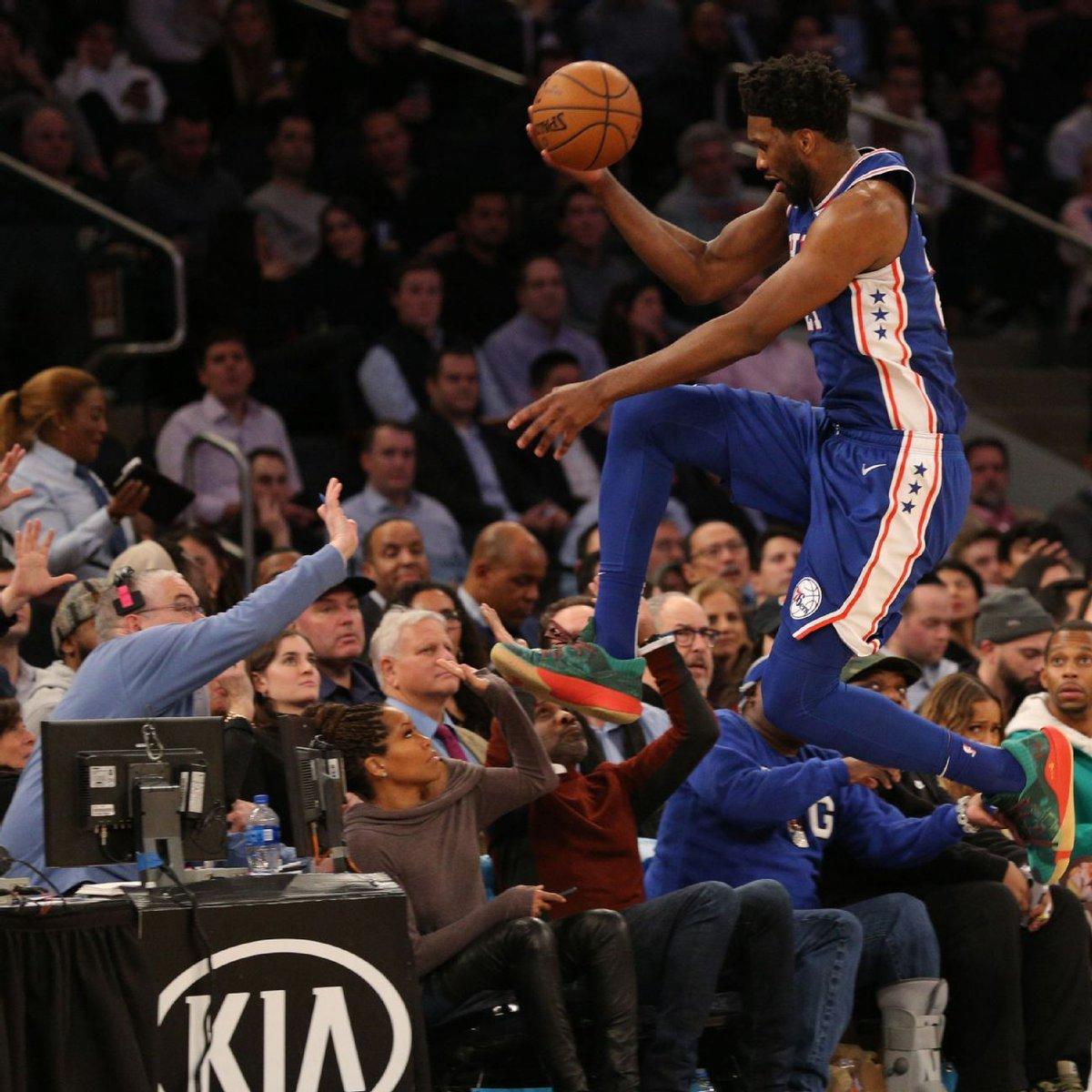 恩比德:当我们能够流畅地转移球,就会有好事发生 NBA新闻