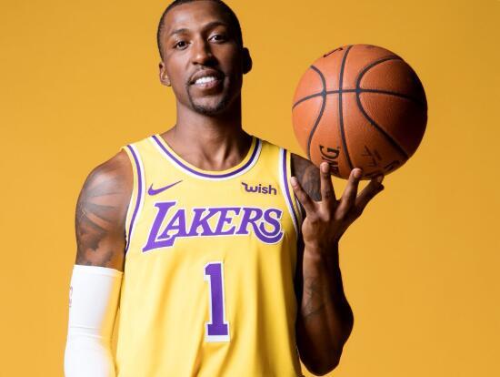 NBA官方祝湖人后卫波普26岁生日快乐