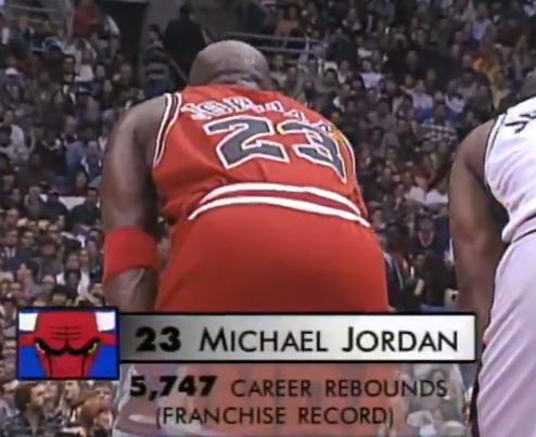 21年前的今天:乔丹成为公牛队史篮板王