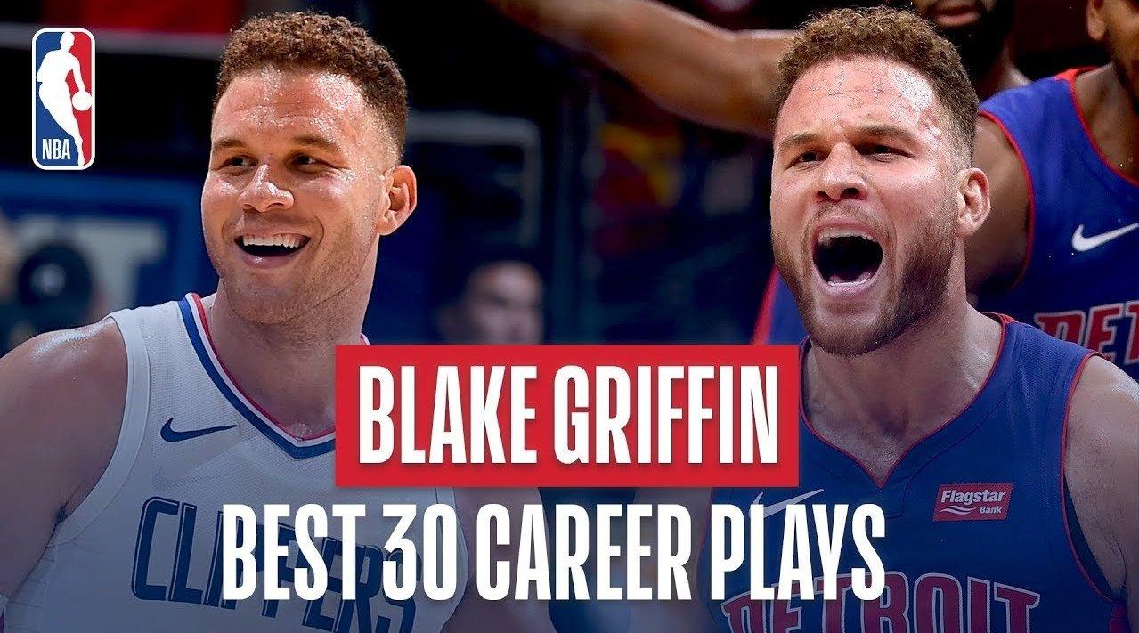格里芬生涯至今震撼30佳球:血腥隔扣,绝杀太阳 NBA新闻 第1张