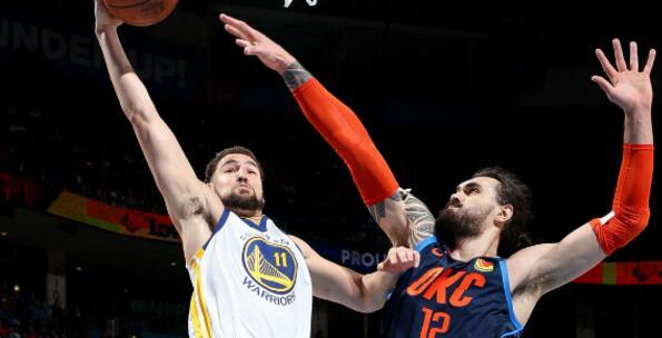 克莱-汤普森:很久没有隔扣了,所以这感觉真的不错 NBA新闻