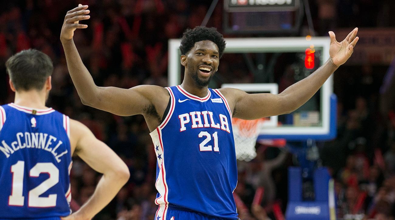 22篮板创生涯新高,恩比德全场拿下37+22+4