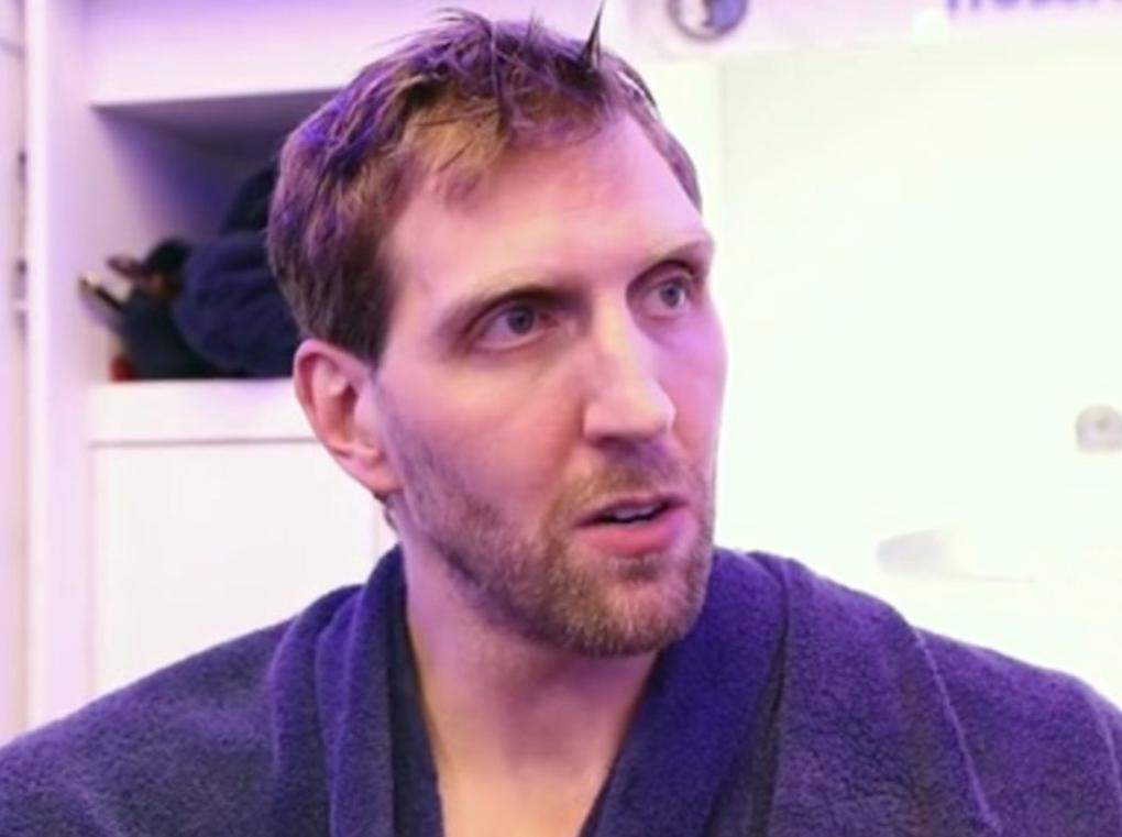 卡莱尔:诺维茨基会在赛季末发光发热,然后长睡一场