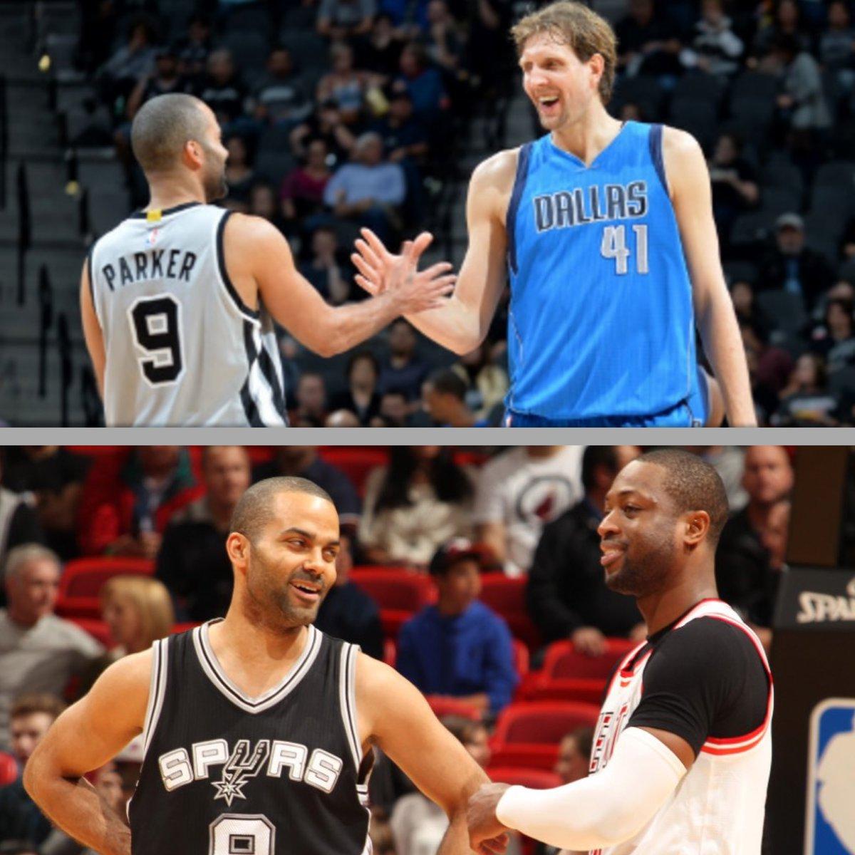 帕克祝福德克和韦德:能和你们做对手是我的荣幸 NBA新闻