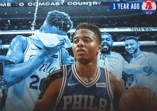 1年前的今天:富尔茨成NBA历史上最年轻的三双先生 NBA新闻