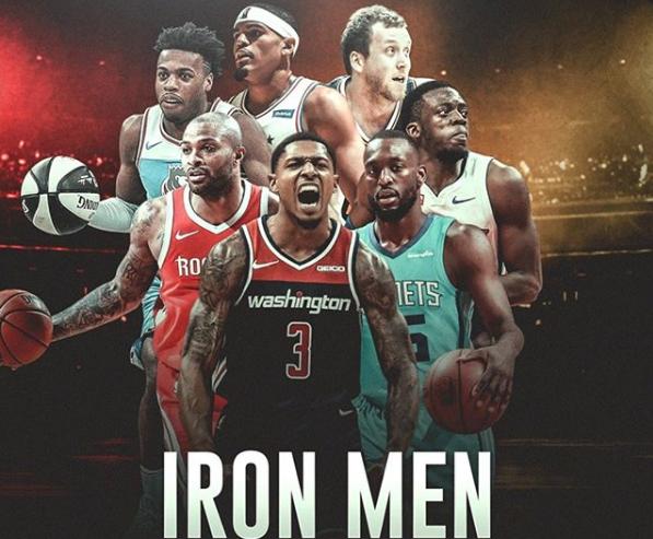 真铁人!本赛季仅7人首发打满全部82场常规赛 NBA新闻