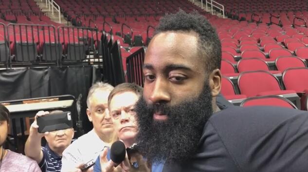 哈登:我们上赛季应该夺冠的,现在是另一个机会 NBA新闻