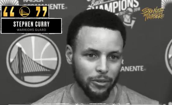 库里谈球队心态:着眼于每一场比赛,并用尽全力 NBA新闻