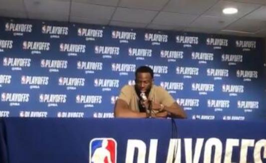 格林谈三分球:我难道不是季后赛三分领跑者? NBA新闻