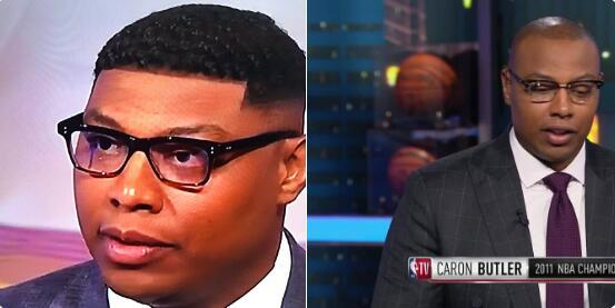 头发浓密!网友发图对比卡隆-巴特勒最近头型变化 NBA新闻 第1张