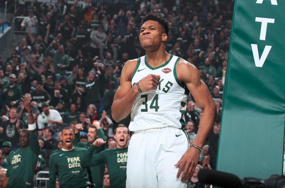 雄鹿上半场得到70分,队史季后赛第二高分 NBA新闻