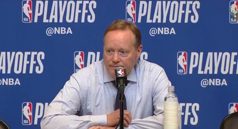 布帅:扬尼斯对自己的期望很高,他为球队做出了巨大贡献 NBA新闻