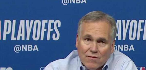 德安东尼:我不在乎对手怎么做,他们防不住哈登 NBA新闻