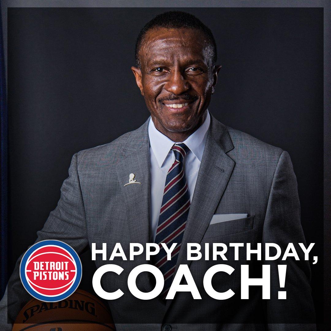 活塞官推祝主教练德维恩-凯西62岁生日快乐 NBA新闻