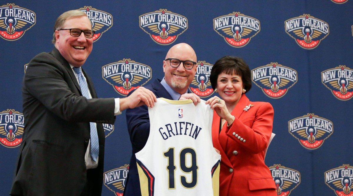大卫-格里芬:致力于说服浓眉鹈鹕是他能赢球的地方 NBA新闻