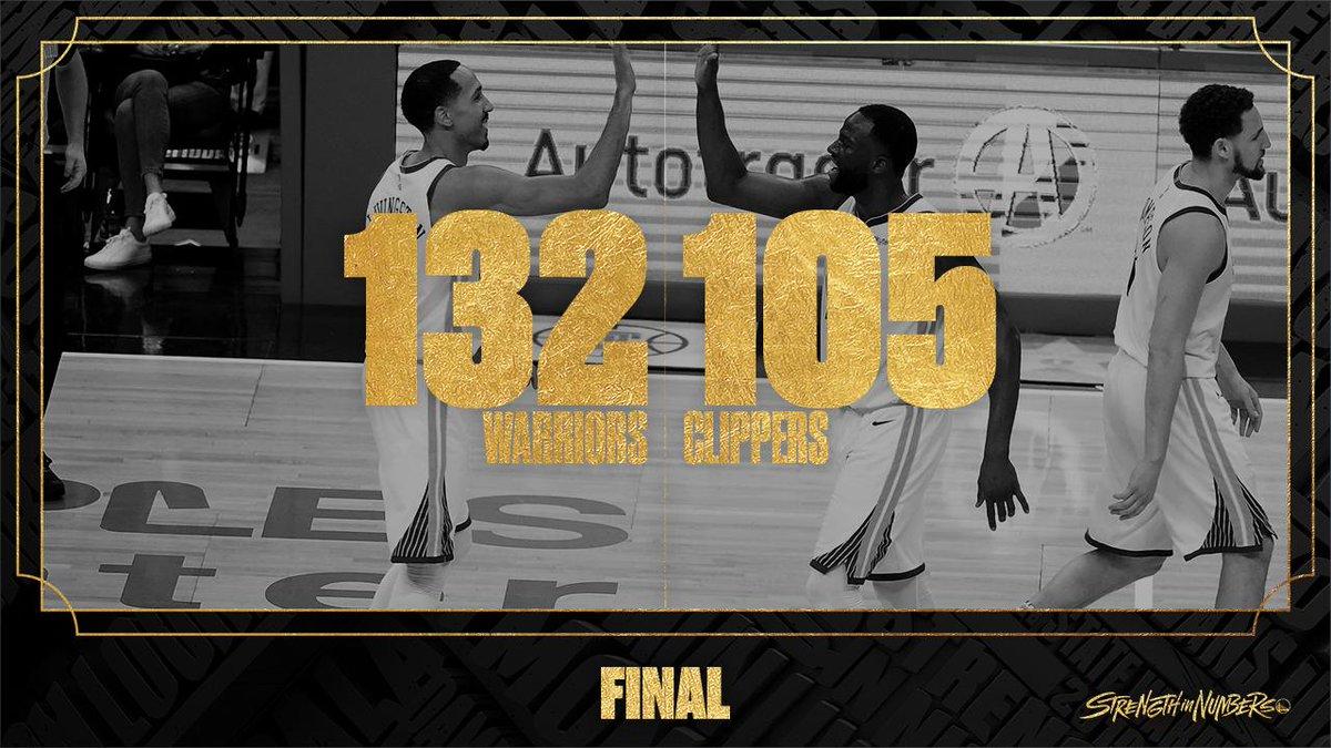 勇士队史首次连续两场季后赛比赛得到至少130分
