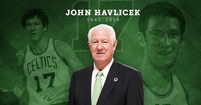 凯尔特人追悼哈夫里切克:感谢你带来所有的欢乐与鼓舞