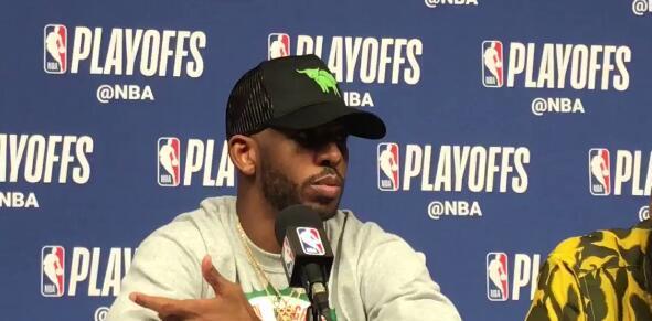 保罗:我的更多精力在防守端,不在乎我出手几个投篮
