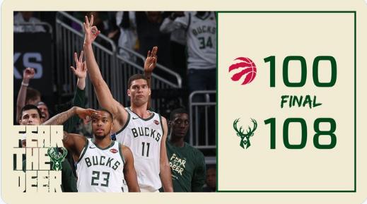 雄鹿自2000-01赛季以来首次在东决中获胜 NBA新闻