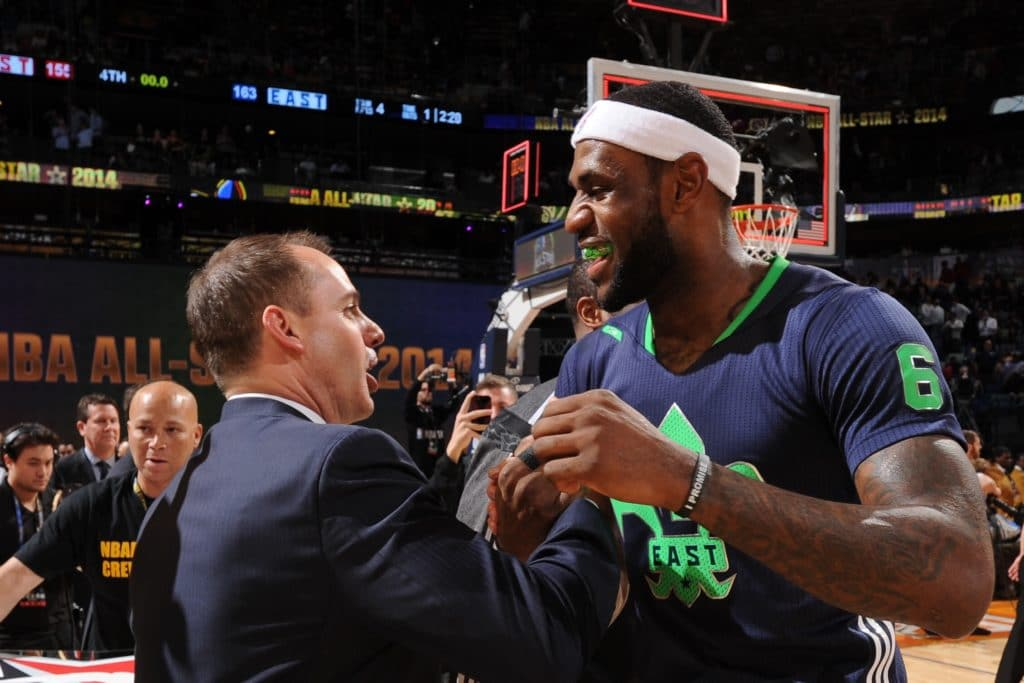 费舍尔:沃格尔是聪明的教练,他能和詹姆斯合作愉快 NBA新闻