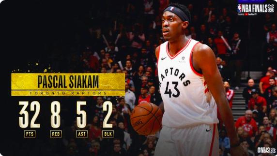 NBA官方评选今日最佳数据:西亚卡姆32+8+5当选