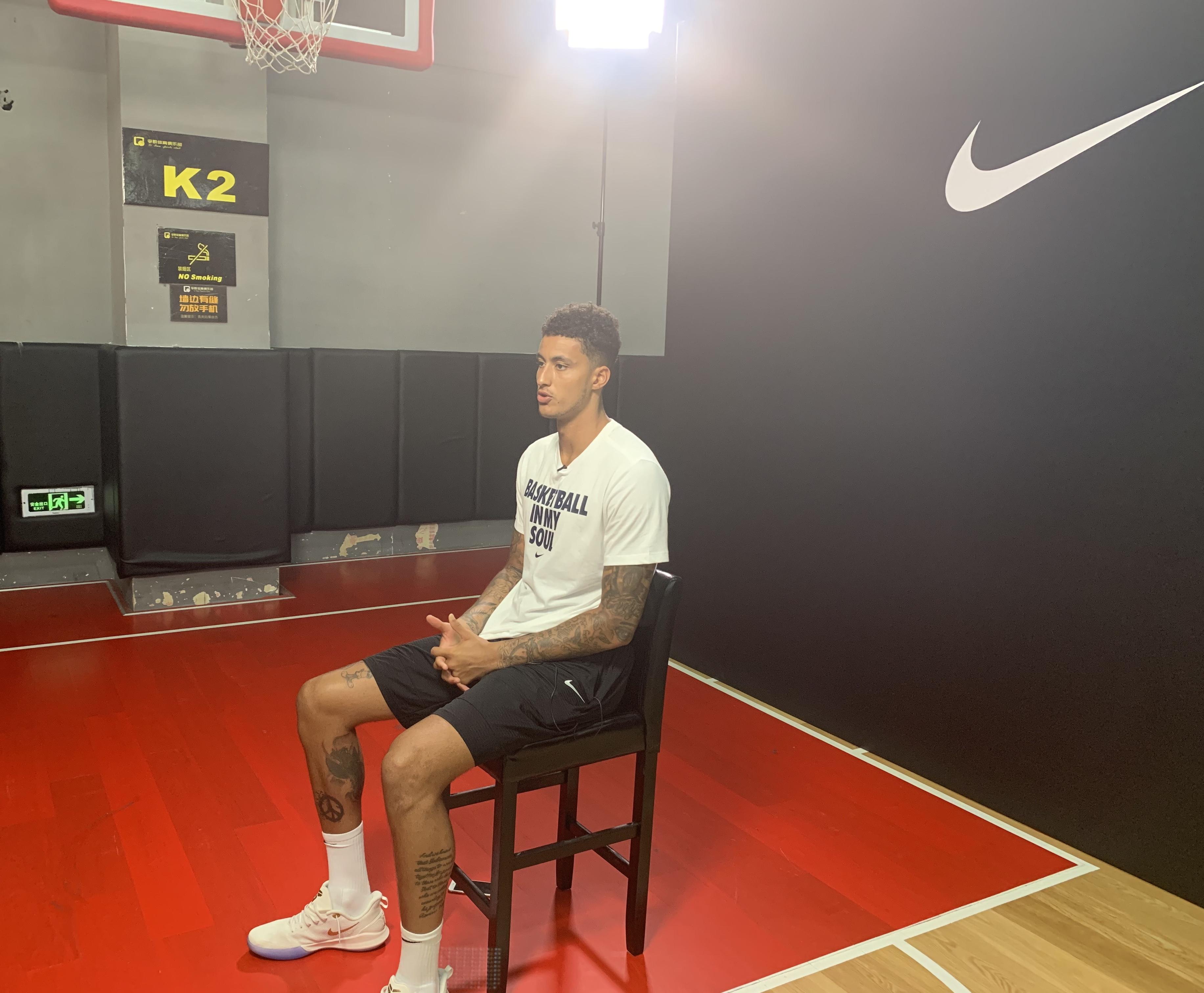 虎扑专访库兹马:下赛季目标全明星,手感不好也要有信心 NBA新闻