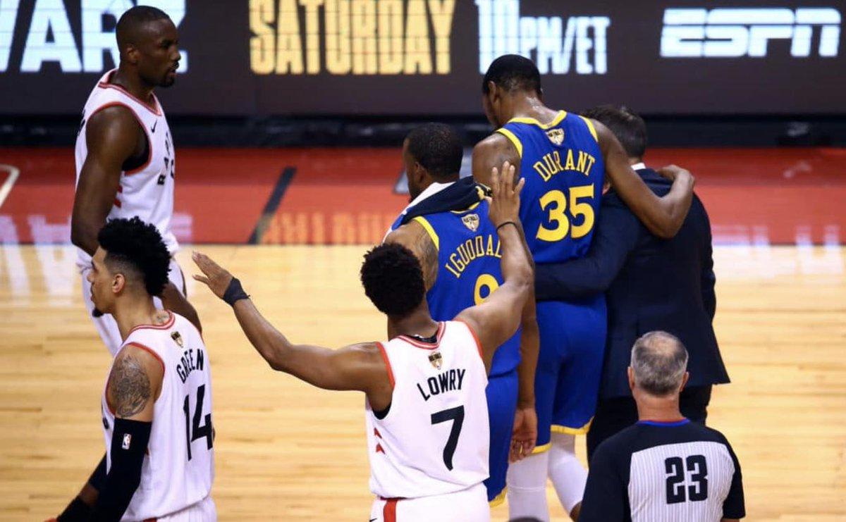 记者爆料:杜兰特此前一天训练两次,努力复出 NBA新闻